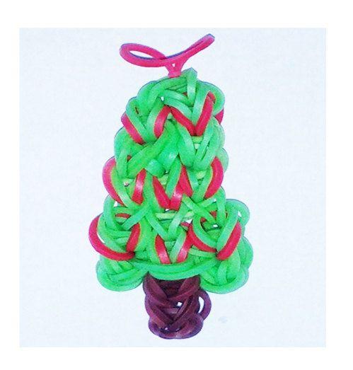 Best 20+ Rainbow Loom Christmas Ideas On Pinterest