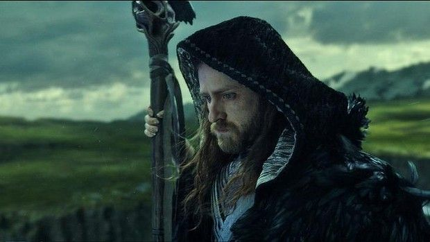 Magical guardian Medivh (Ben Foster) must protect Azeroth at all costs in Warcraft.