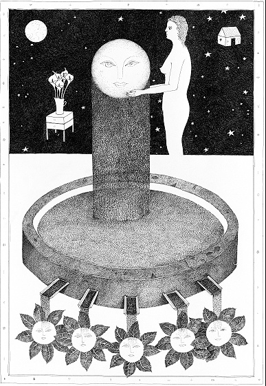 Anton Bosch - ink drawings