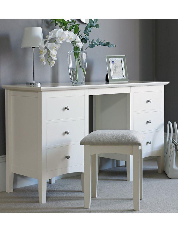 Hastings Ivory Dressing Table Stool Set