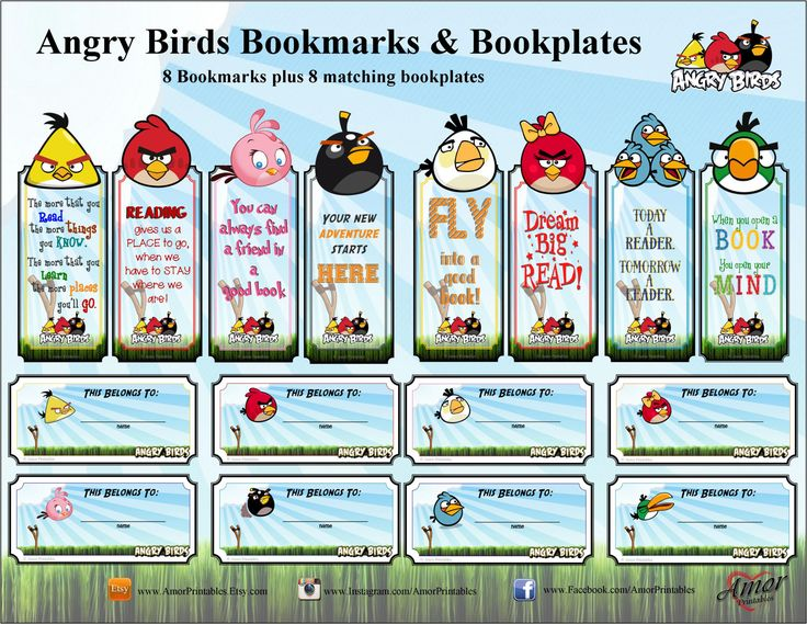 695 best images about Angry Birds Printables on Pinterest