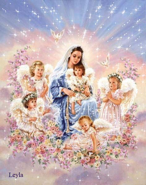 Maria en haar Engeltjes