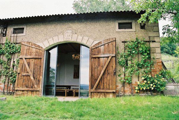 Scheune, Eingang