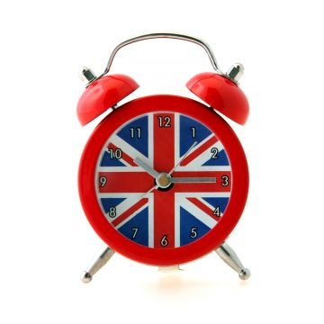 Mini Union Jack Alarm Clock - London souvenirs