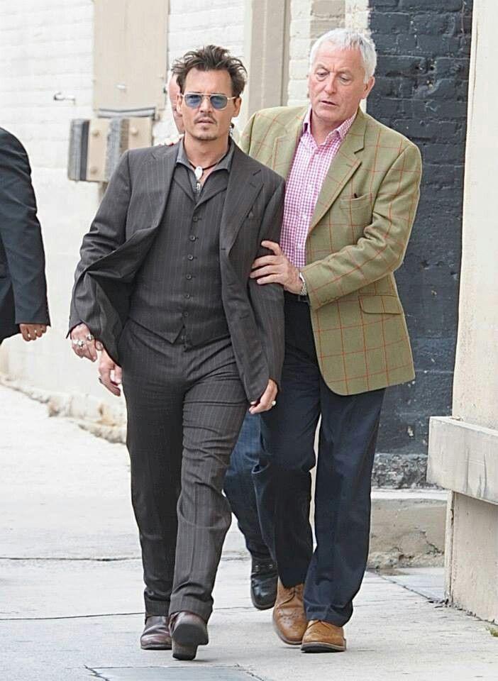 Jerry, Johnny's faithful bodyguard, always protecting our man!