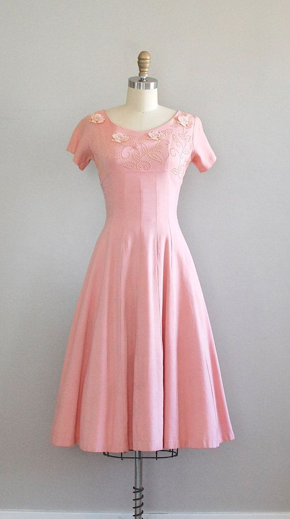 #partydress #vintage #frock #retro #teadress #romantic #feminine #fashion #petticoat