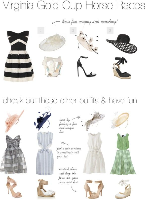 What to wear - Virginia Gold Cup Horse Races