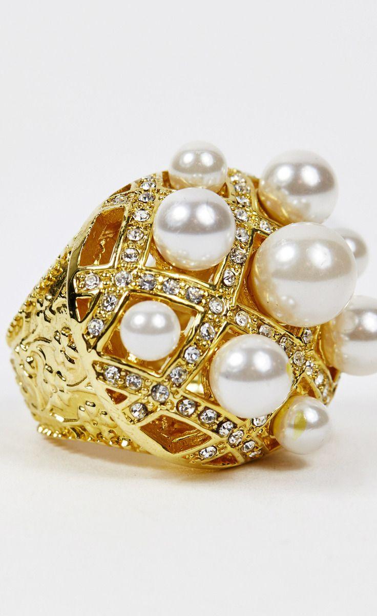 Samantha Wills Gold And Pearl Ring