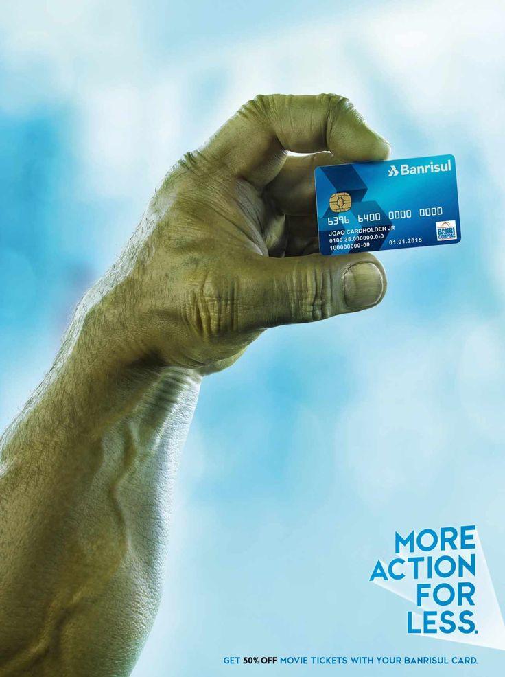Banrisul Credit Card: Action
