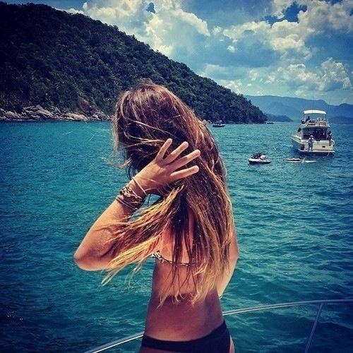 Summer. Girl. Water. Sea . California.