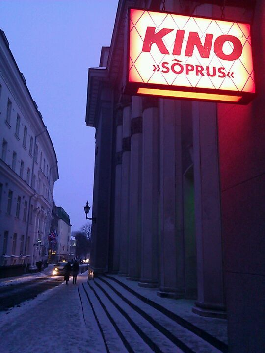 Kino Sõprus is a legend on its own - being the oldest cinema in Estonia. The only real art-house cinema with good non-mainstream program. Also, once in a while they have some nice concerts there.