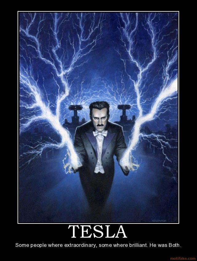 The inimitable Nikola Tesla