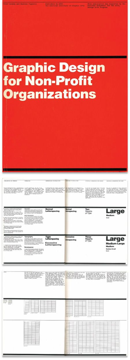 This rare book is by Vignelli and Peter Laundry, and was published in 1980 in partnership with AIGA. The book focuses on design and best practices for non-profit organizations, but the content is a great resource in general and the teachings can be applied pretty much anywhere. It's available for download here: https://archive.org/details/graphicdesignfor00laun