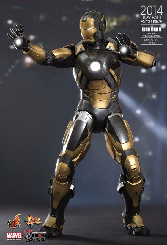 Hot Toys Iron Man Mark XX 'Python' (2014 Toy Fair Exclusive) - Vamers Store