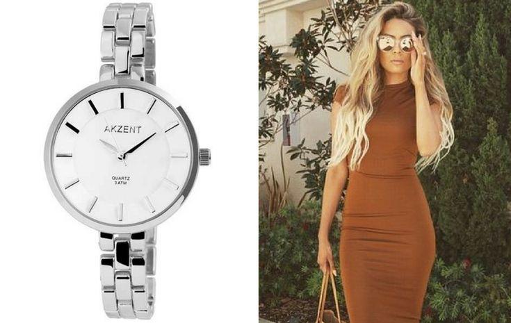 A világos tavasz típusú nők bátran viselhetnek olyan természetes színeket, mint a barna. A könnyed eleganciát sugárzó egyrészes ruhák mellé pedig remek választás egy stílusos ezüst karóra.