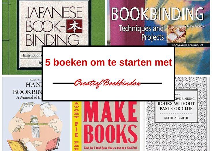 De 5 beste boeken om te starten met creatief boekbinden