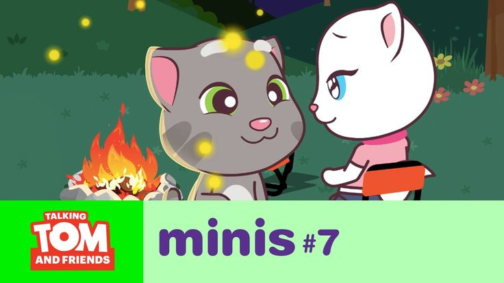 Talking Tom and Friends Minis - Camping Trip (Episode 7) xo, Talking Angela #TalkingAngela #MyTalkingAngela #TalkingFriends #LittleKitties #TalkingGinger #TalkingHank #TalkingTom #TalkingBen #LittleKitties #MyTalkingAngela