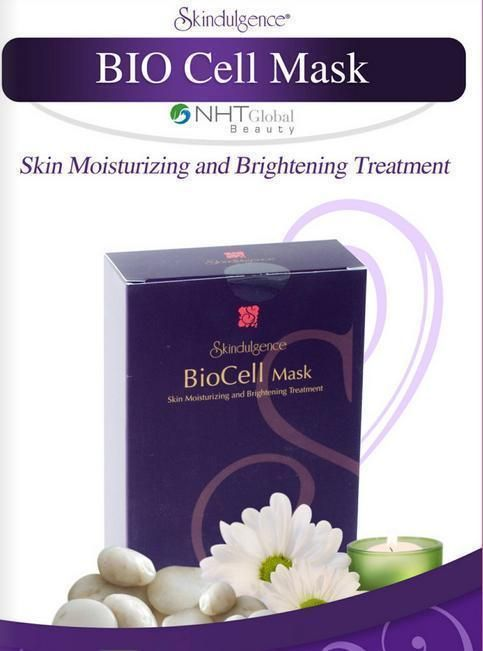 Skindulgence BioCell Mask By NHT Gobel,Brand New in Sealed Box #NHT