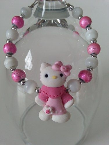 Here is an unique gift for little girl ( 3 years old and over ) A bracelet made…