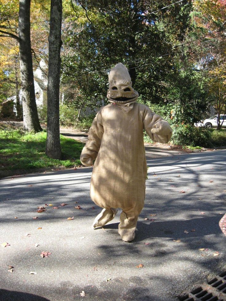 my handmade Oogie Boogie suit. -More pics in comments. - Imgur
