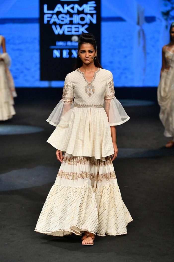 Sukriti Aakriti At Lakme Fashion Week Summer Resort 2019 Lakme Fashion Week Fashion Happy Dresses