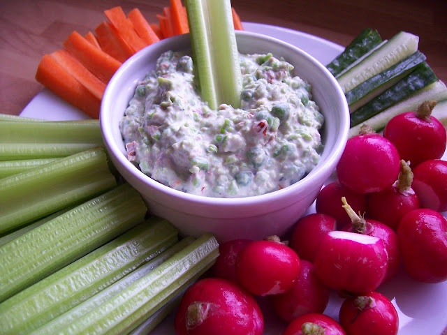 Good food, Shared: Gregg Wallace's Pea and Cream Cheese Dip