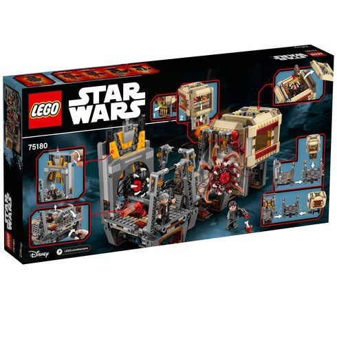 Superb LEGO 75180 Star Wars Rathtar Escape Now At Smyths Toys UK! Buy Online Or Collect At Your Local Smyths Store! We Stock A Great Range Of LEGO Star Wars At Great Prices.
