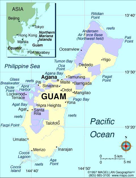 Their hometowns: Agana Heights, Agat, Barrigada-2, Chalan