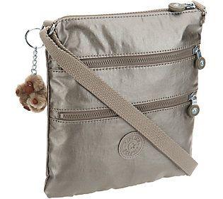 Kipling Nylon Mini Triple Zip Crossbody Bag - Keiko