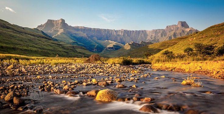 Drakensberg., South Africa