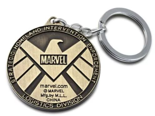 The Avengers-SHIELD Sign Metal Key Chain $3.90