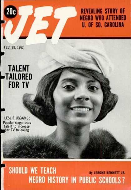 jet Magazine Cover 1963 | Jet Magazine Covers #350-399