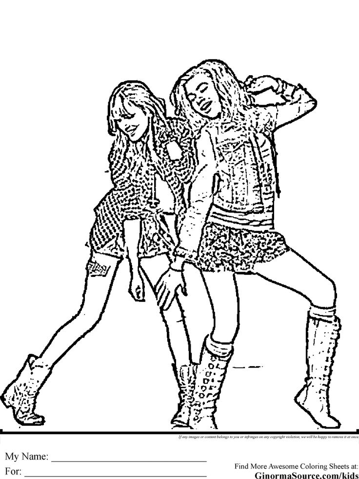 coloring pages of zendaya - photo#17