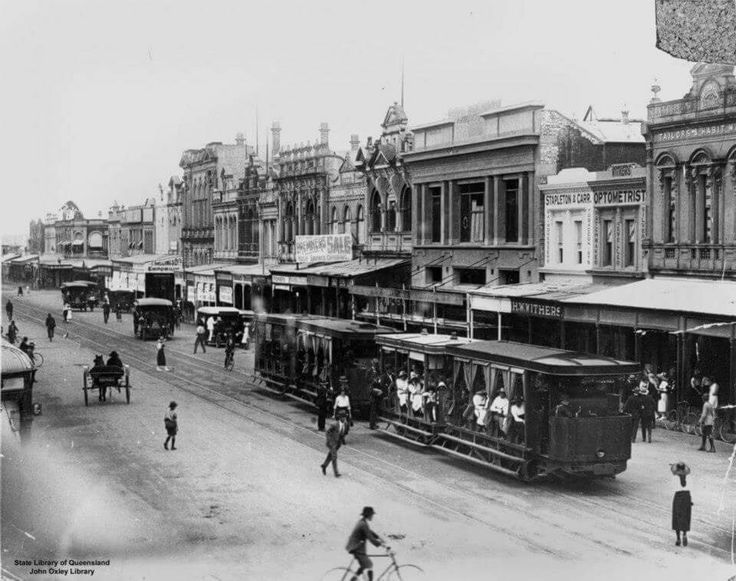 Rockhampton  steam trams 1923
