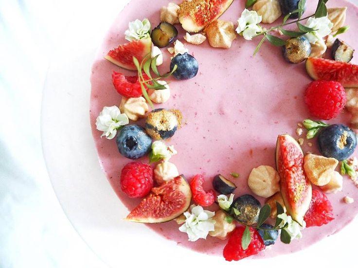 Fairytail raspberry brownie // Luna Richardt