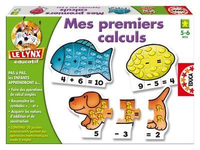 31997000926063 Mes premiers calculs. Si j'ai 1 fraise et que l'on m'en offre 1 autre, combien en aurai-je? Si j'ai une portée de 5 chiens et que j'en donne 3, combien m'en reste-t-il ? Une fois le puzzle assemblé, les plus jeunes apprendront les opérations simples de soustraction et d'addition en comptant les objets, quand les plus grands, eux, apprendront à se servir des chiffres.