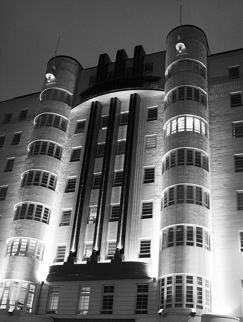 The Beresford in Black and White