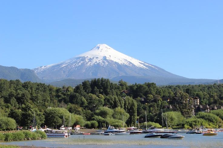 Volcán Villarrica. Foto de María José Davis Véjar.