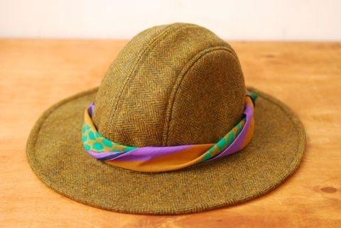 Ladies winter hat.  Winter Marnie // Olive - scarf 05. The Brim Label
