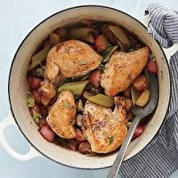 One-Pot Chicken with Sausage and Potatoes from Martha Stewart