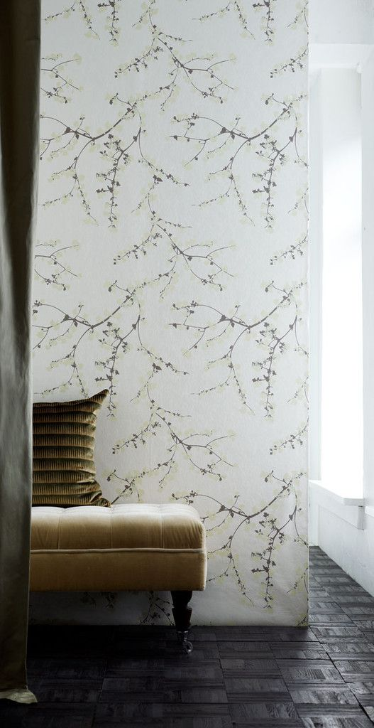 Spring branches wallpaper by Helene Blanche I don't love wall paper but for this I might make an exception