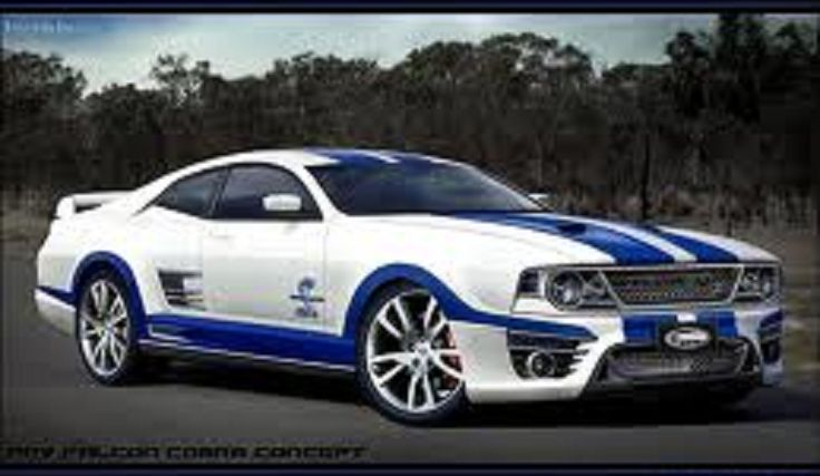 2007 Ford Shelby Torino Falcon Cobra Concept Car