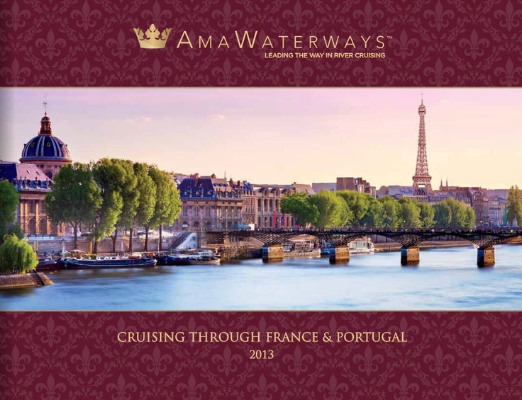 Peaceful and scenic, river cruising offers a smooth, gentle ride along the world's most remarkable waterways. Supreme comfort and convenience make it the premier way to experience magnificent cities, historic villages and little-seen enclaves.  #France #Portugal #Cruise #River Cruising #AMA Waterways