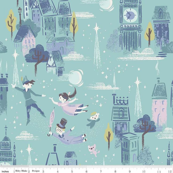 """Image result for wendy peter pan images  Quilt Taffy: Neverland Fabric - Wendy, Peter Pan and Captain Hook!  Quilt Taffy - blogger864 × 864Search by image  """"Peter Pan, Tinkerbell, Wendy Darling Even Captain Hook,"""