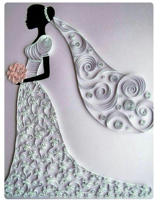 You're Gonna Be a Bride Quilled Card @ Rs. 549