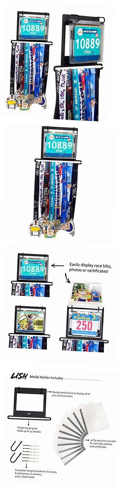 Other Fitness Clothing 158920: Race Bib And Marathon Medal Display - Wall Mounted Runners Medal Holder W 10 -> BUY IT NOW ONLY: $48.64 on eBay!