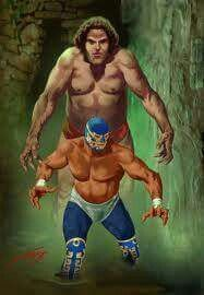 Canek, Andre el Gigante