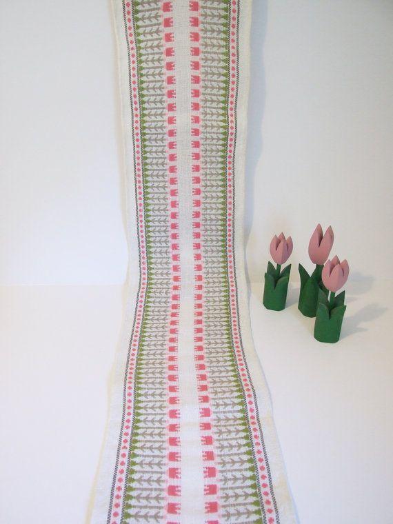 Suecia Tapete de algodón vintage // Corremesa  por tiendanordica