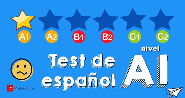 Test de español nivel A1. Un examen online con 40 preguntas de gramática, vocabulario y comprensión; y modelos de examen oral y escrito profesores.