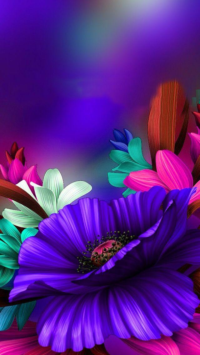 Deep purple flowers   Purple & More in 2019   Flowers